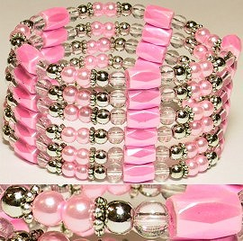 "1pc 37"" Magnetic Wrap Pearl Pink 37W130A"
