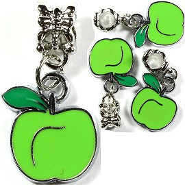 4pc Charm Apple Green BD1352