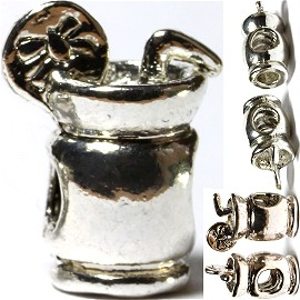 Screw 5pcs Charms Drink Silver BD2037