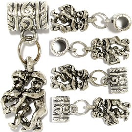5pc Charm Couple Silver BD2141