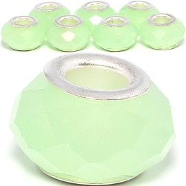 8pcs Crystal Beads Lime Green Light BD3110