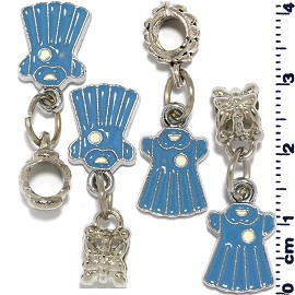 4pcs Blue Charm BD552