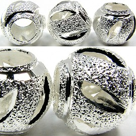 Beads 5pcs Charms Pack Ball Silver BD772