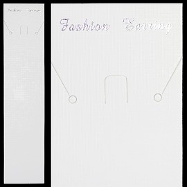"50pcs 8.5x2"" Display Hanger for Jewelry, White Ds03"