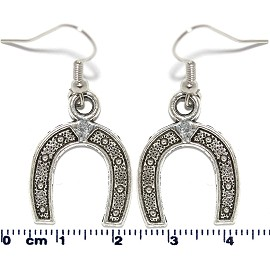 Earring Silver Saddle Ger2098