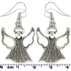 Earring Silver Angel Ger2107