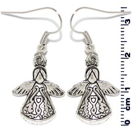 Earring Silver Angel Ger2108