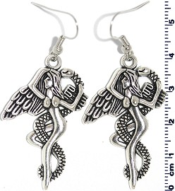 Earring Lady Angel Silver Ger2113