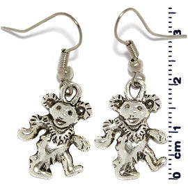 Clown Silver Earring GER504