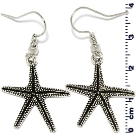Starfish Silver Earring Ger541