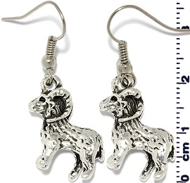sheep Silver Earring GER571