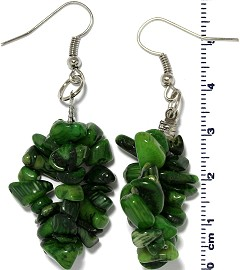 Stone Earring Green Ger788