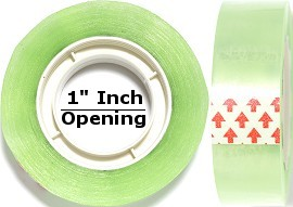 2pc 11/16 Wide Clear Tape HD04