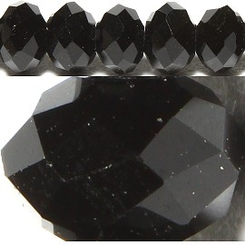 150pcs 4mm Spacers Crystal Beads Black JF092