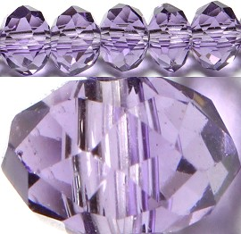 150pcs 4mm Spacers Crystal Beads Purple JF101