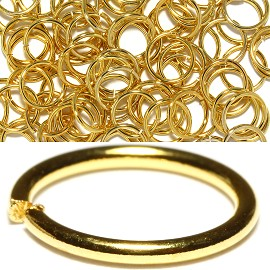 75pc 10mm Metal Links Gold JF1141