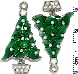 2pcs Green x'mas Tree JF1963