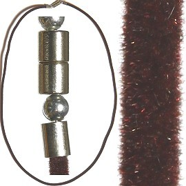"18"" Inch Felt Cord Magnetic End Brown Ns399"