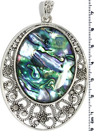 Abalone Pendant Large Oval PD4032
