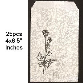 "Paper Gift Pouch Bags 25pcs 4x6"" PH56"