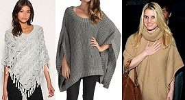 Clothing: Sweater Poncho -