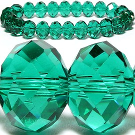 10mm Crystal Bracelet Stretch Teal AB SBR794