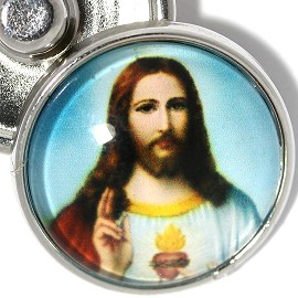 1pc Snap On Charm Jesus Zr1901