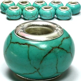 8pcs Earth Stone Turquoise BD1010