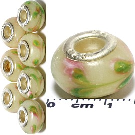 8pcs Beads Cream White BD1556