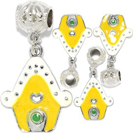 4pc Charm House White Yellow BD3017