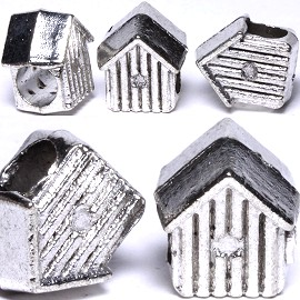 5pc Charm House Silver BD422