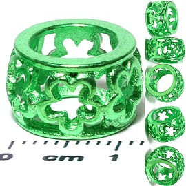 6pcs Charm Shine Green BD463