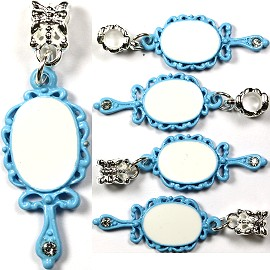 5pc Charm Mirror Blue BD878