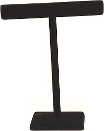 "1pc 18x14x5"" T-Bar Display Stand Felt Black Ds157"