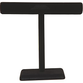 "1pc 14x14x5"" T-Bar Display Stand Felt Black Ds158"