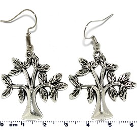 Life of Tree Silver Earring Ger577