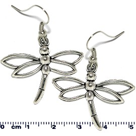 Earring Silver Dragonfly Ger2093