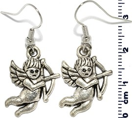 Earring Silver Angel Ger317