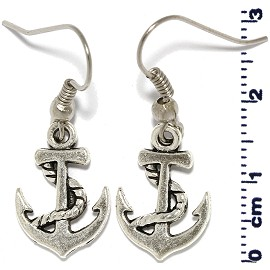 Anchor Silver Earring Ger506