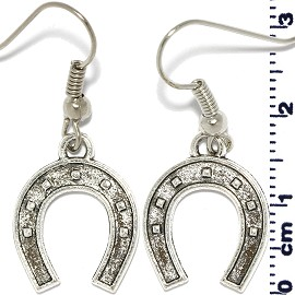 Saddle Silver Earring Ger544