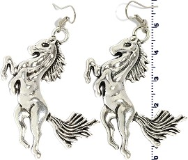 Horse Silver Earring GER551