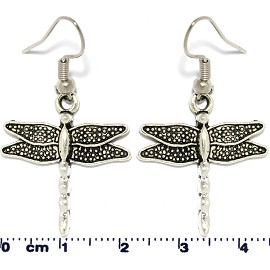 Dragonfly Silver Earring GER574
