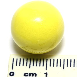16mm Angel Harmony Chime Sound Ball Yellow HK04