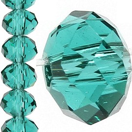 150pc 4mm Crystal Bead Spacer Teal JF1519