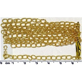 10pc Chain Extender For Bracelet Necklace Part Gold JF1656