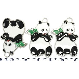 4pcs Parts Black white Panda JF1781