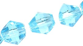 4mm Bicone Crystal sky blue 120pcs JF1933