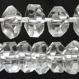 100pcs 6mm Crystal Bead Spacer Transparent Clear JF2290
