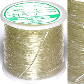 150FT Clear Stretchable Silicone String Rope Part 1mm JF945