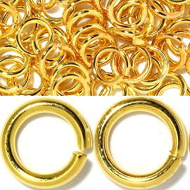 150pcs 5mm Ring Chain Spacer Gold JP124